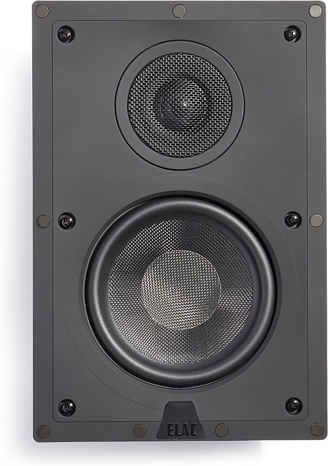 Elac - Debut IW-D61-W Custom in-Wall Speaker (Ea)