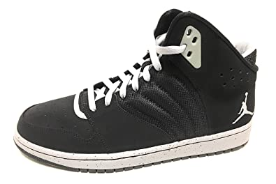 sports shoes fda17 3c609 Amazon.com | Air Jordan 1 Flight 4 Premium Black/Wolf Grey ...