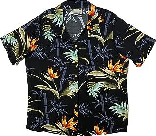 product image for Paradise Found Women's Bamboo Palm Aloha Shirt