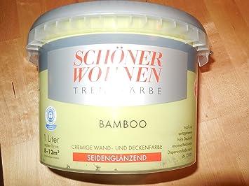Schöner Wohnen Trendfarben-Bamboo-1 l: Amazon.de: Baumarkt