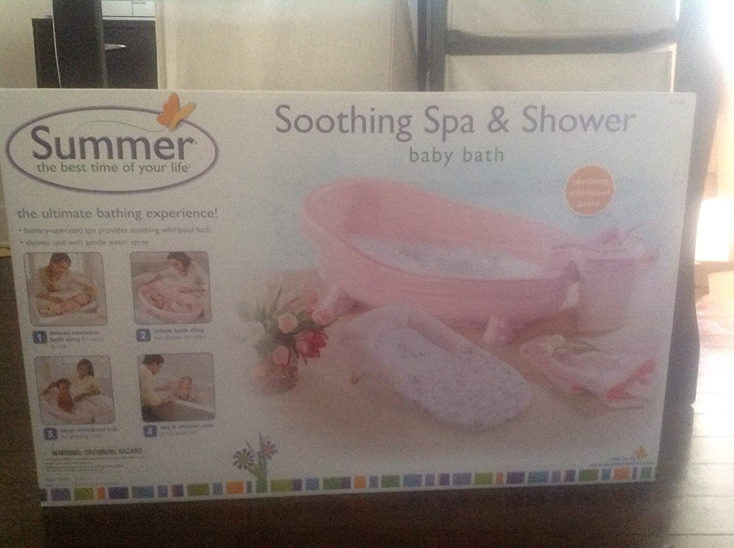 Amazon Summer Infant Soothing Spa Shower