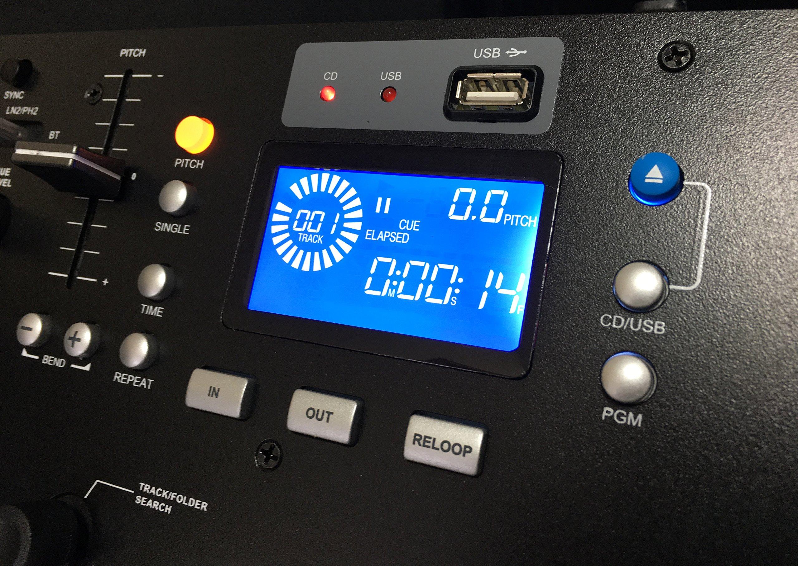 cdmb 5000 dual media player mixer combo cd usb mp3 bluetooth