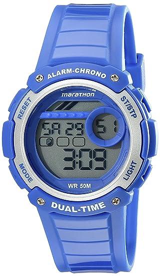 Timex Unisex tw5 K85000 m6 Marathon pantalla Digital cuarzo azul reloj: Amazon.es: Relojes