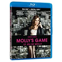 Molly's Game [Blu-ray + Digital Copy] (Bilingual)