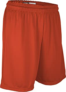 """product image for Game Gear PT6477Y Youth Boy's and Girl's 7"""" Basketball High Performance Athletic Short (Youth Large, Orange)"""