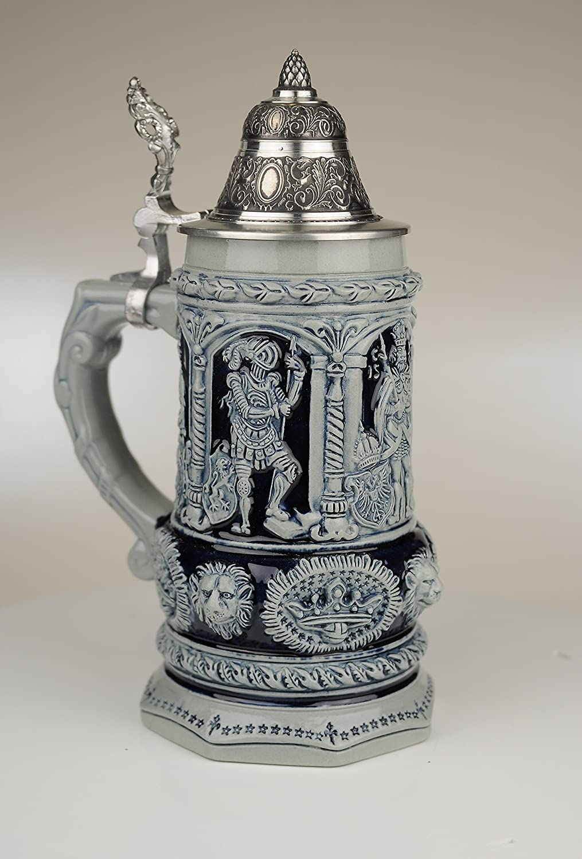 Beer Mug Beer Steins By King 0.75l Limited COMINHKPR29386 Thewalt 1893 Stein Of Kings Relief German Stein