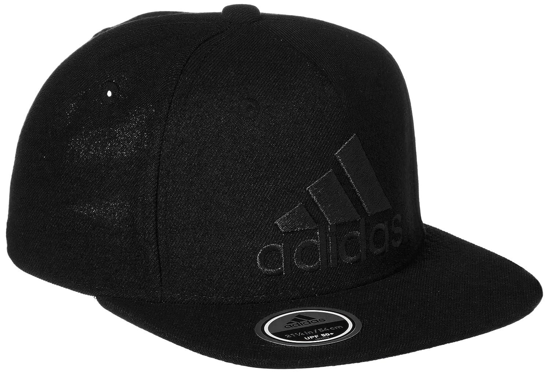 Adidas Flat Logo Gorra de Tenis, Hombre, Negro, OSFW: Amazon.es: Deportes y aire libre