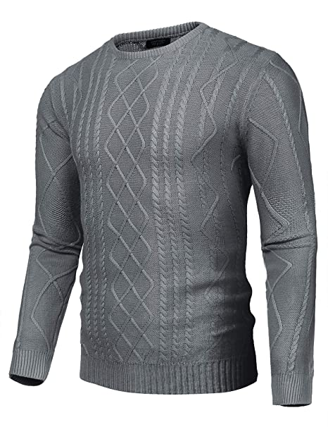 verrückter Preis dauerhafte Modellierung toller Wert COOFANDY Men's Casual Slim Fit Knitted Sweaters Crew Neck Pullover Sweaters  Jumper