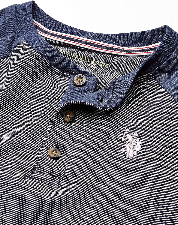 and Jean Set U.S Henley Boys 3 Piece Short Sleeve T-Shirt Polo Assn