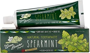Green Beaver Spearmint Fluoride Free Toothpaste 3-Pack