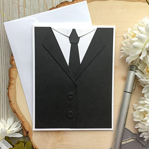 Amazon Fathers Day Card Tuxedo Birthday Card Dads Day Card