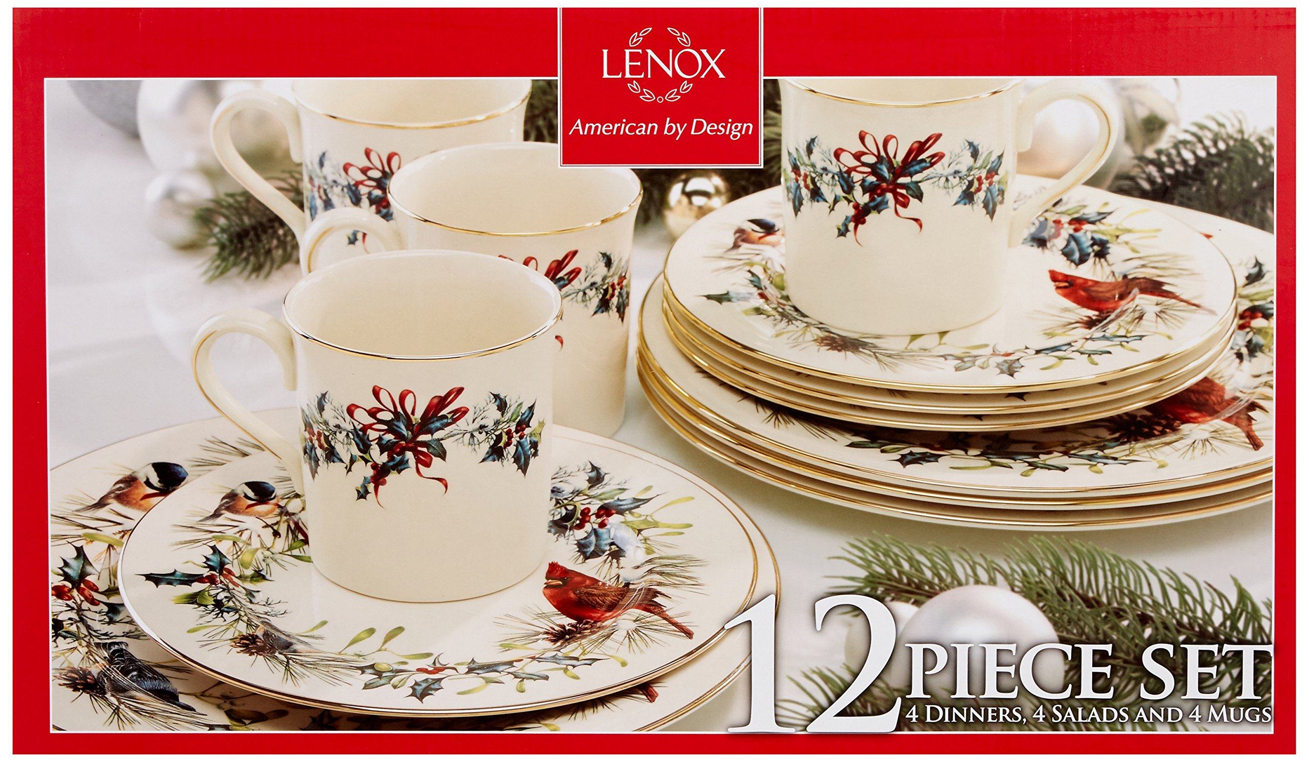 Lenox Winter Greetings 12 Piece Set by Lenox (Image #2)