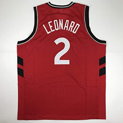 outlet store 9c0df bd733 Unsigned Kawhi Leonard Toronto Red Custom Stitched ...