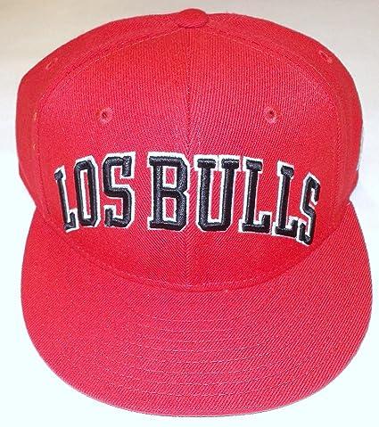 9eb44c0b851 Amazon.com   NBA adidas Chicago Bulls Latin Nights Snapback Hat - Red    Sports Fan Baseball Caps   Sports   Outdoors