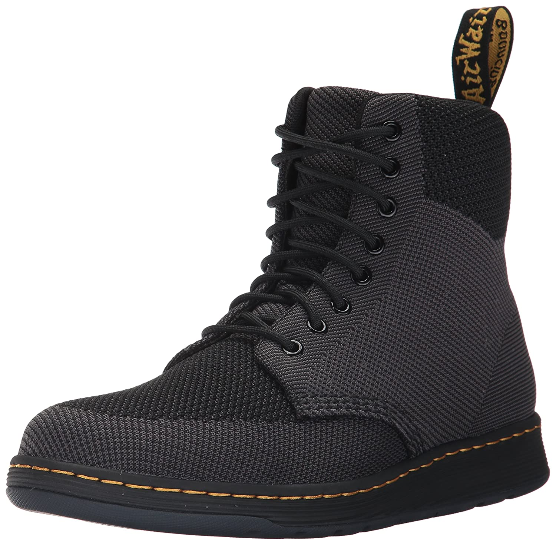 Dr. Martens Rigal Knit Fashion Boot B01N7N4UU5 12 Medium UK (13 US) Black / Anthracite Knit