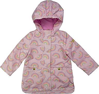 Osh Kosh Baby Girls Hooded Lightweight Rainslicker Raincoat Jacket