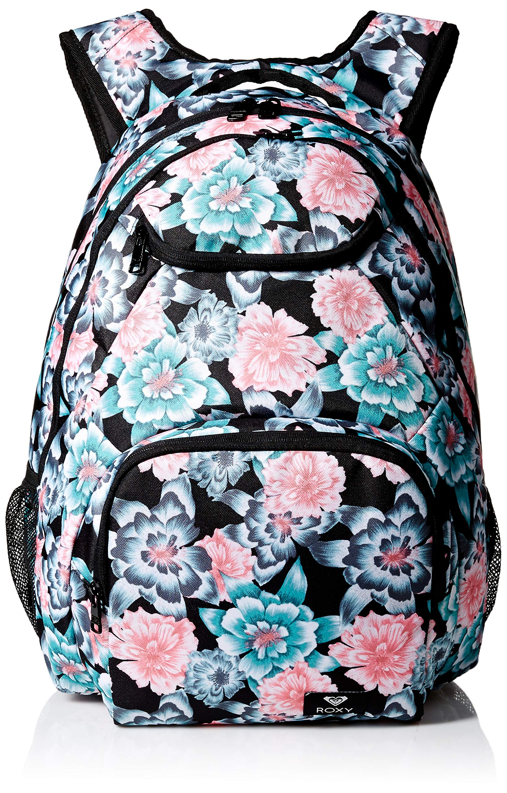Roxy Women's Shadow Swell Backpack, anthracite sample crystal flower, 1SZ by Roxy