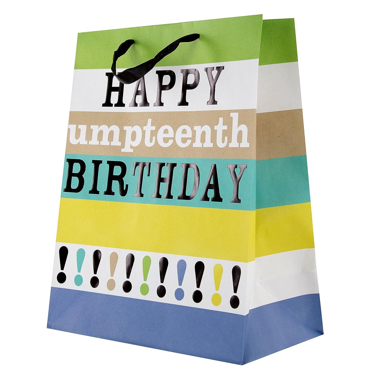 Hallmark Umpteenth Birthday Gift Bag