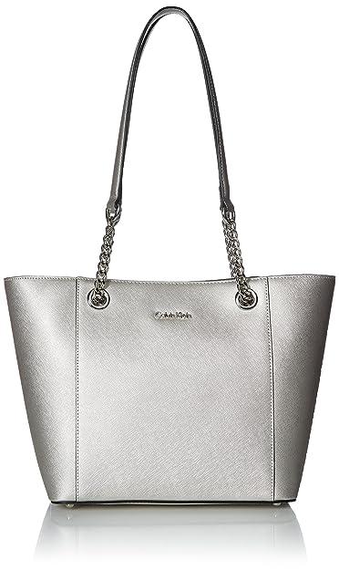 d5f88d65632 Amazon.com  Calvin Klein womens Calvin Klein Hayden Saffiano Leather ...