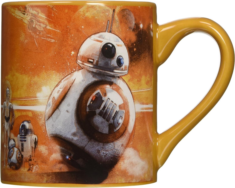 Silver Buffalo SE1232Z Star Wars Episode 7 Troop Leader Logo Laser-Printed Ceramic Mug 14-Ounces Disney