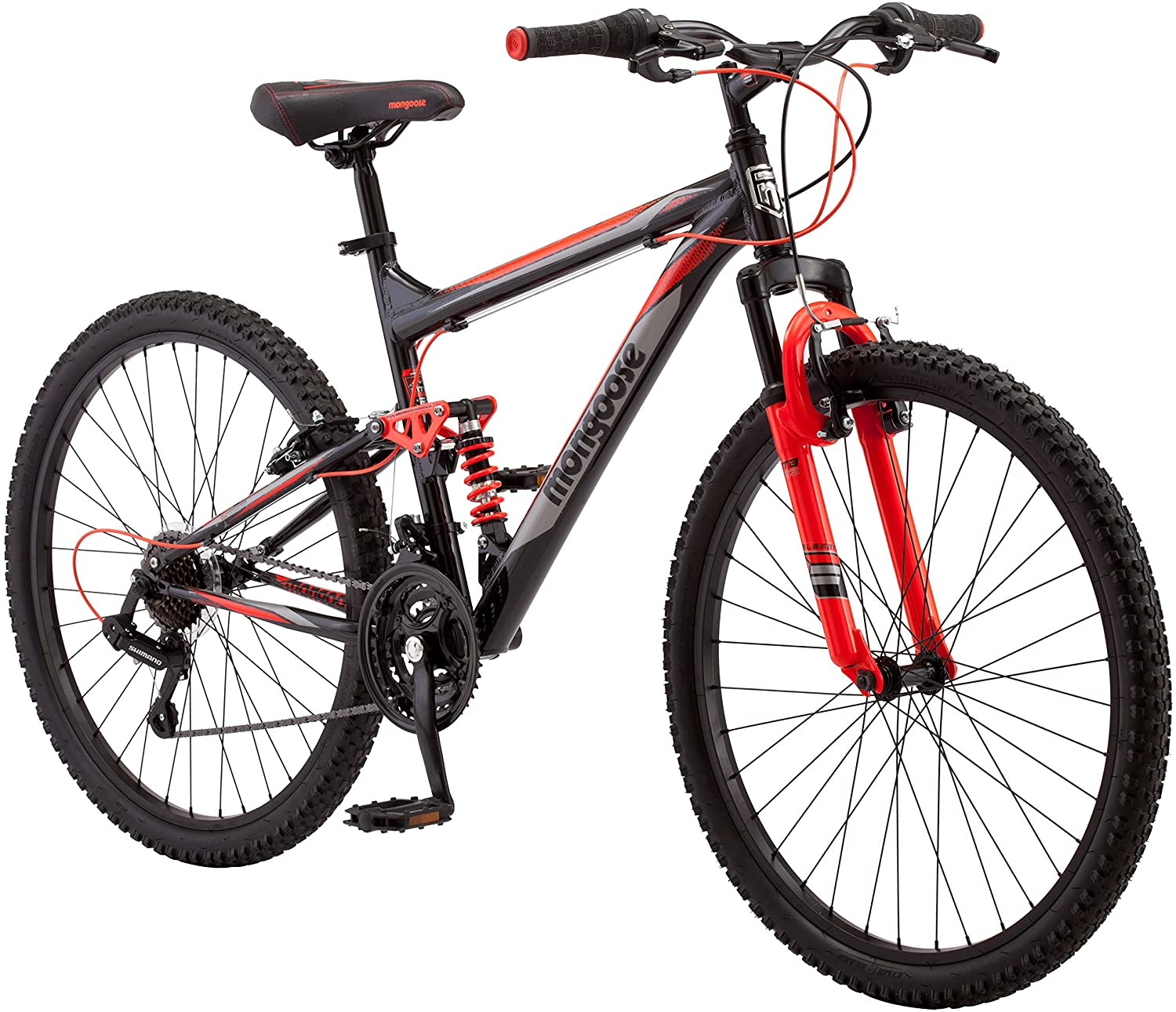 "best mountain bike under 500: Merax Finiss 26"" 24-Speed Mountain Bike"