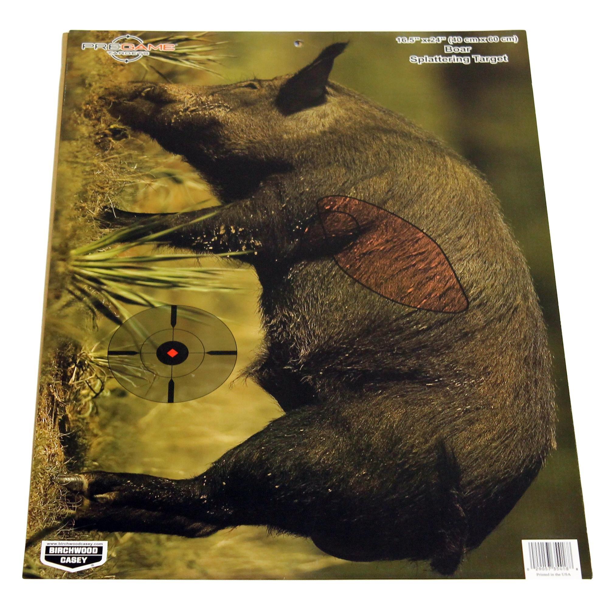 Birchwood Casey Pregame 16.5˝ x 24˝ Boar Target - 3 Targets by Birchwood Casey (Image #1)
