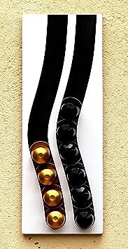Dispensador de cápsulas nespresso, 20 cápsulas (blanco): Amazon.es: Hogar