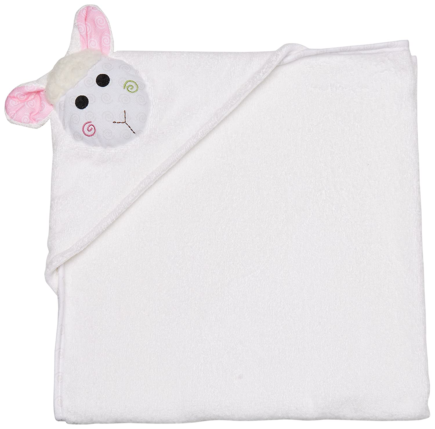 Zoocchini - Baby Towel - Lola the Lamb ZOO1003