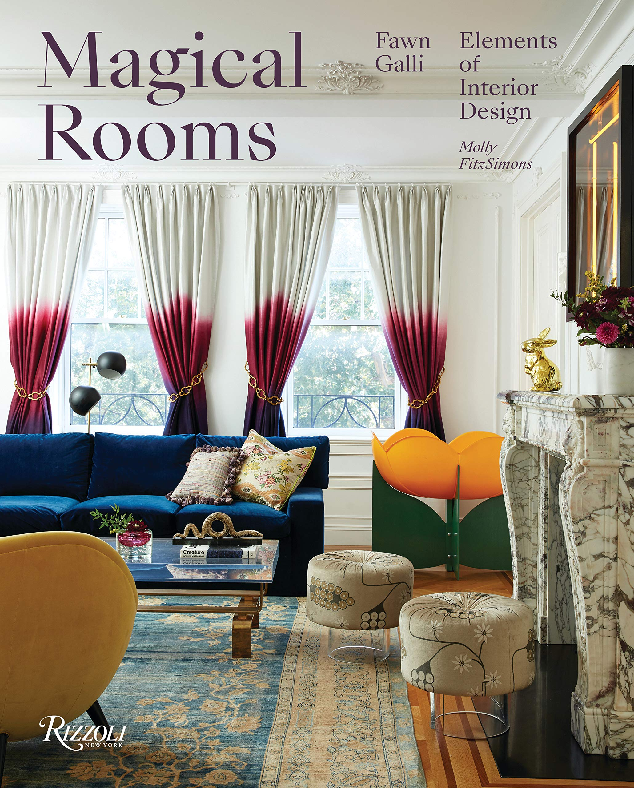 Magical Rooms Elements Of Interior Design Galli Fawn Fitzsimons Molly 9780847864478 Amazon Com Books