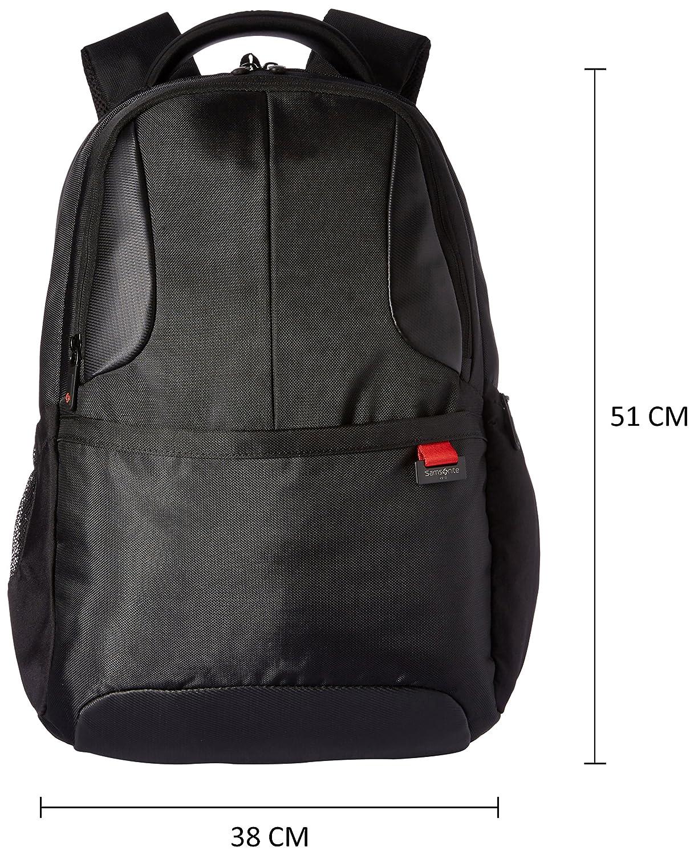 diseño superior venta outlet Tienda Samsonite Ikonn Polyester 24 Ltrs Black Laptop Backpack (31R (0) 09 001)