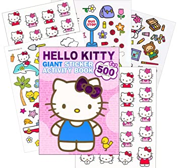 hello kitty giant sticker activity book over 500 stickers