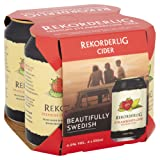 Rekorderlig Premium Strawberry-Lime Cider, 4 x 330 ml