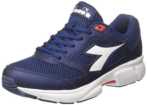 Shape 9, Zapatillas de Running para Hombre, Azul (BLU Nautico BLU Azzurro), 42 EU Diadora