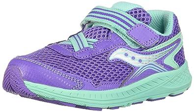 d4d8b6e29ef6 Saucony Ride 10 Jr. Sneaker Little Kid 4 Purple Turq