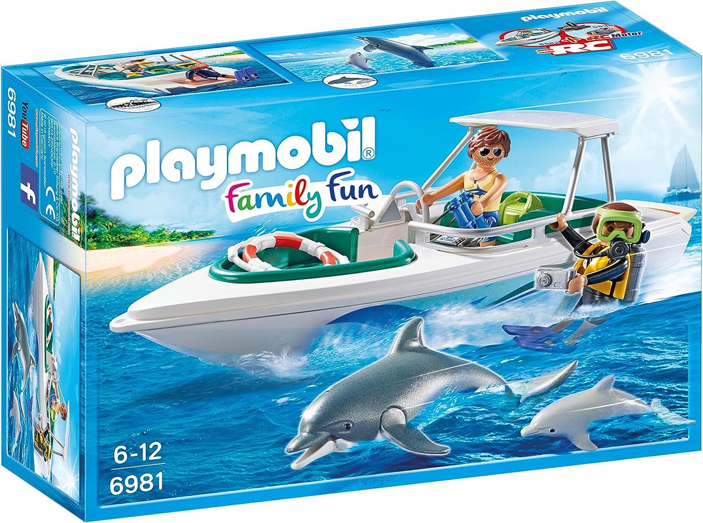 Playmobil Crucero Playset de Figuras de Juguete, Multicolor, 28,4 x 9,3 x 18,7 cm (Playmobil 6981)