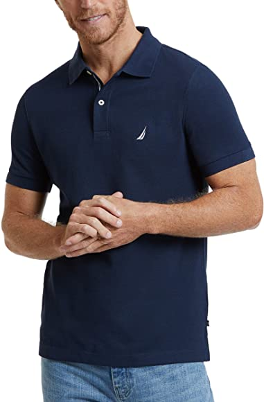 Nautica Polo Sport Manga Corta Color Azul: Amazon.es: Ropa y ...
