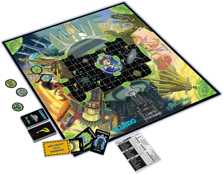 Winning Moves- Cluedo - Rick und Morty Juego de Mesa, Multicolor (11422): Amazon.es: Juguetes y juegos