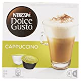 Nescafe Dolce Gusto Cappuccino Coffee Pods 16 capsules - Pack of 3 (Total 48 Capsules)