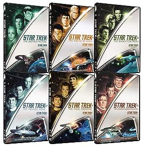 Star Trek I: Motion Picture / Star Trek II: Wrath of Khan / Star Trek III: Search For Spock / Star Trek IV: Voyage Home / Star Trek V: Final Frontier / Star Trek VI: Undiscovered Country