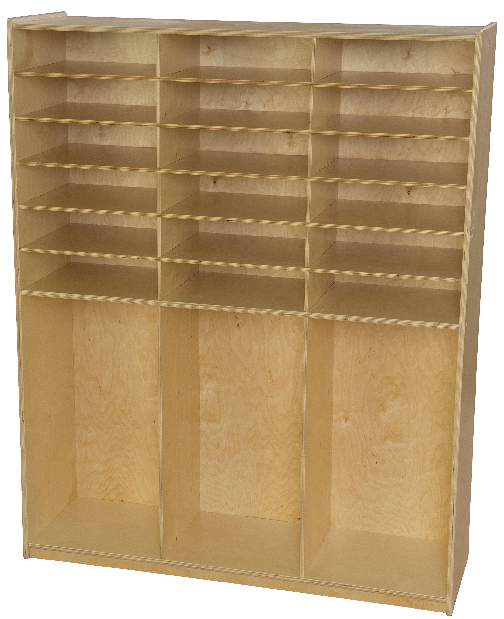Wood Designs 990343 Storage Shelf Locker