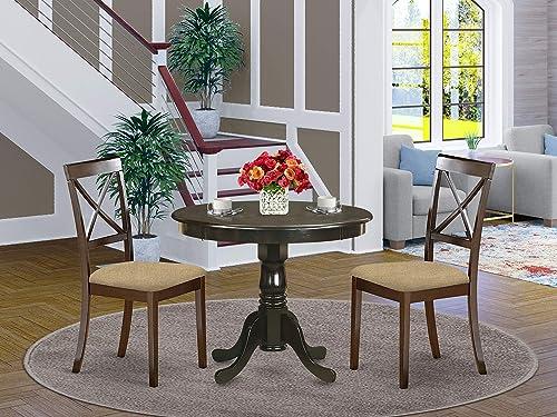 East West Furniture ANBO3-CAP-C Dining Room Set