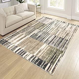 "product image for Orian Rugs Reflections Lark Rise Area Rug, 5'3"" x 7'6"", Cloud Gray"