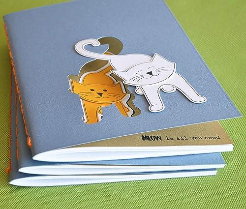 Cuaderno - Meow is all you need - gatitos en amor - cuaderno ...