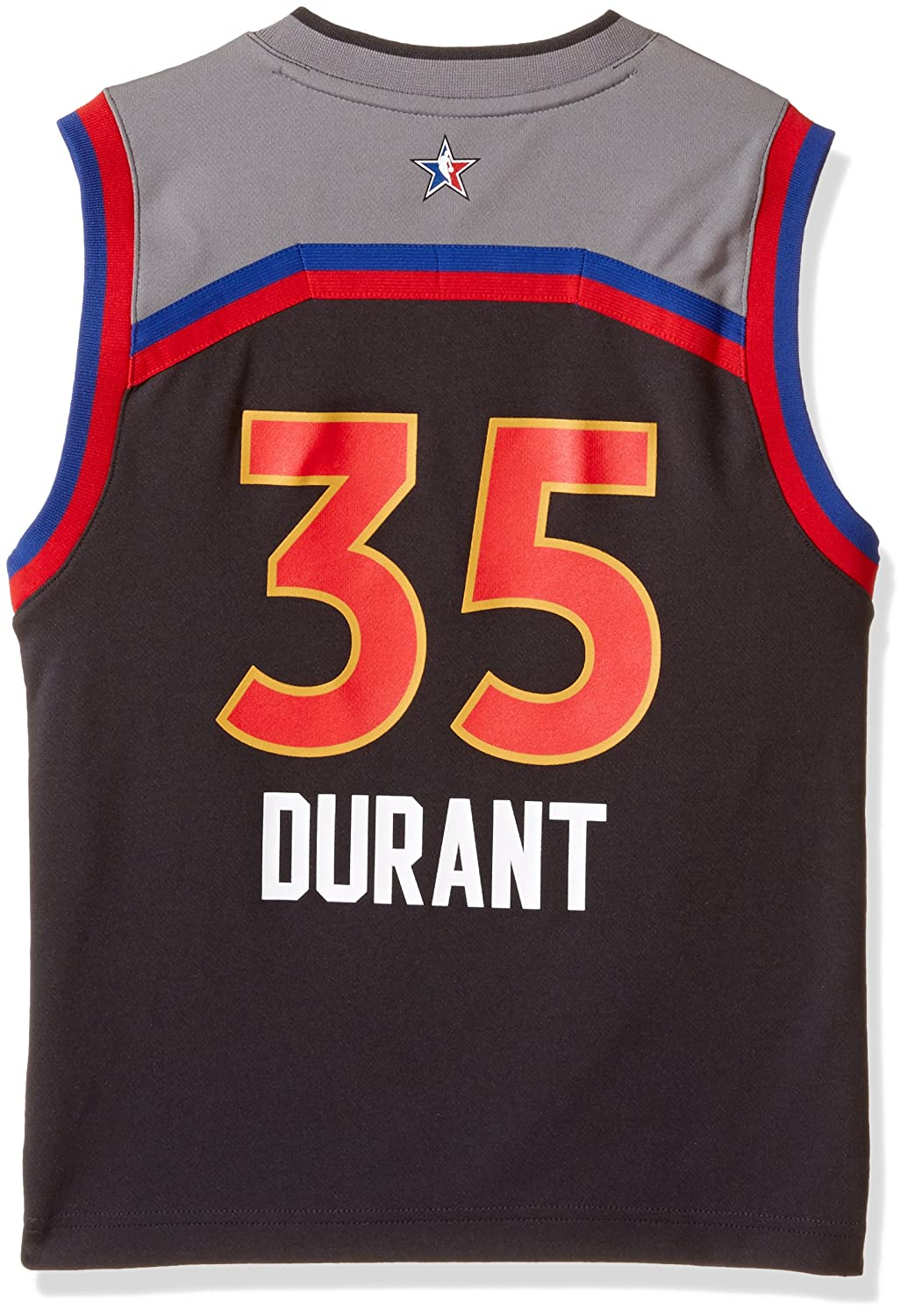 10ae73b65ee Amazon.com   NBA Kevin Durant Golden State Warriors All Star West Replica  Jersey