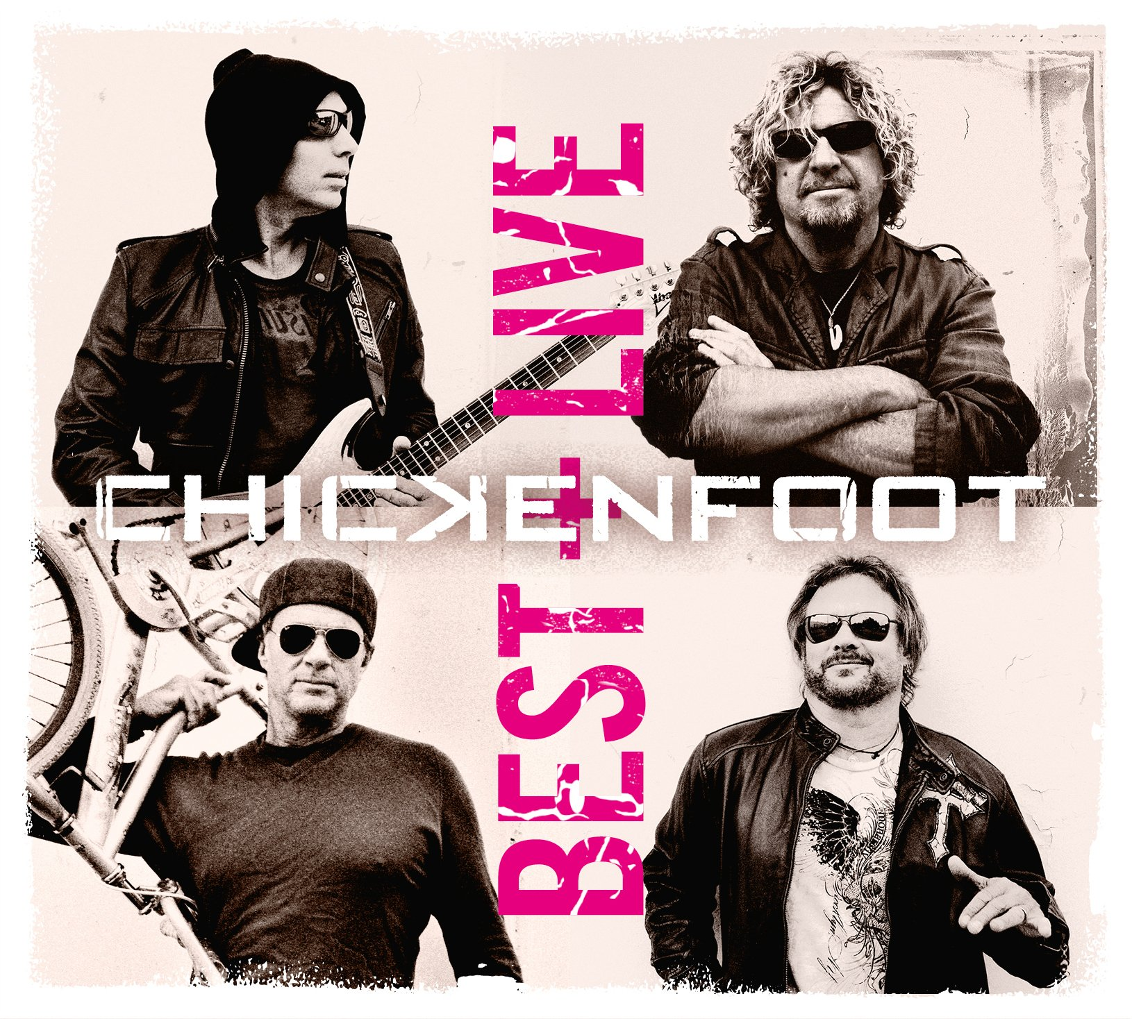CD : Chickenfoot - Best + Live (2 Disc)