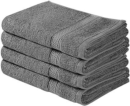 Utopia Towels - Toallas de mano grandes de algodón (paquete de 4, 41 x