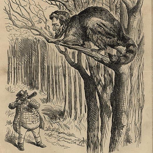 Amazon Com Abraham Lincoln Political Cartoon 1862 John Bull Civil