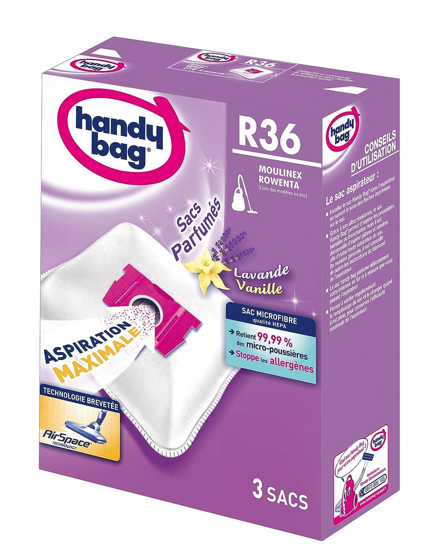 Acquisto Handy Bag R36 – Set di 3 sacchetti profumati per aspirapolvere, in microfibra antiallergica Prezzo offerta
