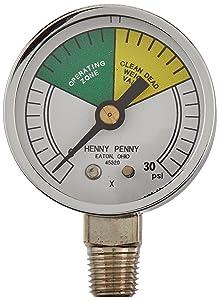 Henny Penny 16910Pressure Fryer Gauge