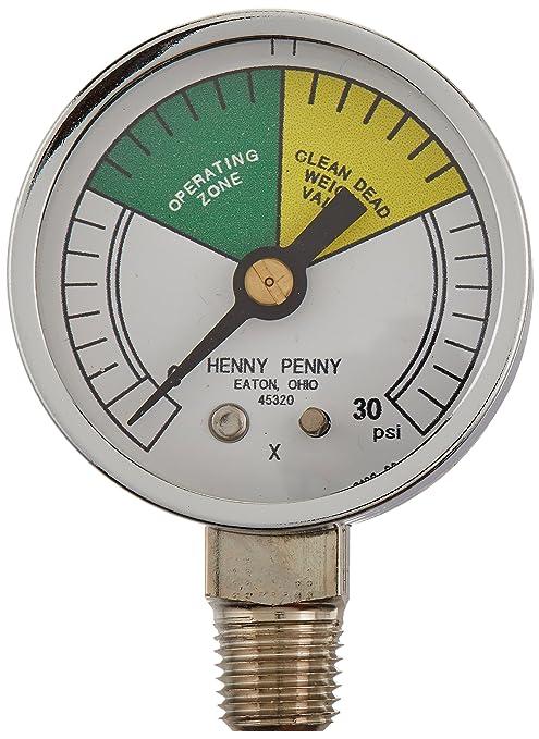 Henny Penny 16910 presión calibre de la freidora